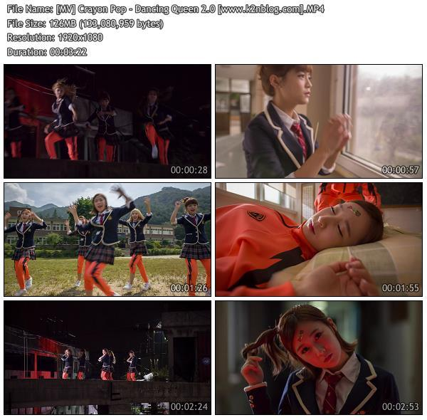 (MV) Crayon Pop - Dancing Queen 2.0 (HD 1080p Youtube)