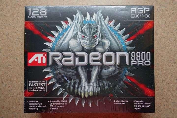 ATI Radeon All In Wonder 9800 Pro 128MB AGP R350 Boxed 2003