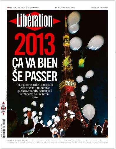 Libération Mercredi 2 janvier 2013