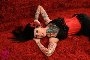 Model: Jess Cherry - Tattoos: Clint Leifeste - His Ruin Photography 2010
