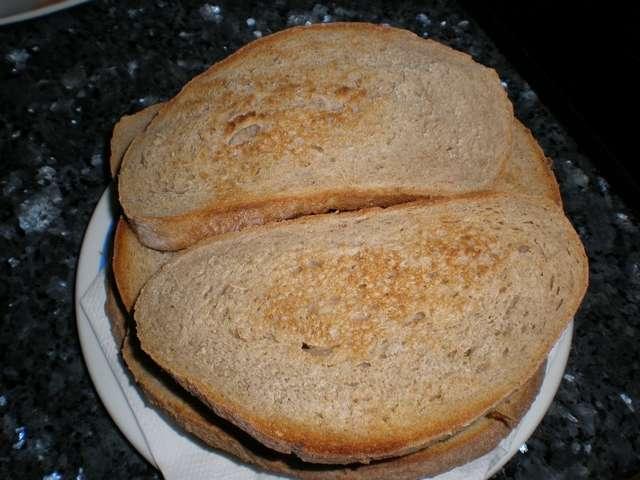 Pan integral tostado