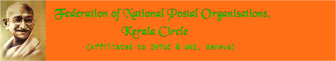 Federation of National Postal Organisations, Kerala Circle