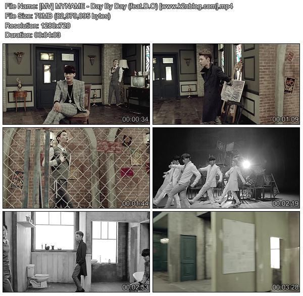 (MV) MYNAME - Day By Day (feat.D.O) (HD 1080p Youtube)