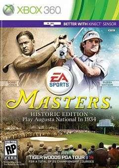 Tiger Woods PGA Tour 14 Masters Historic Edition