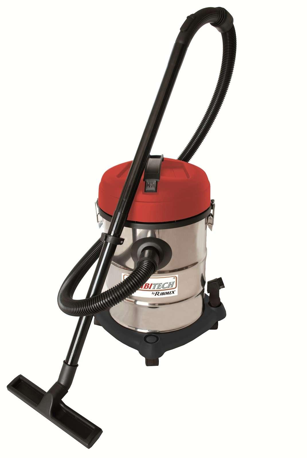 aspirateur eau et poussiere industriel aspirix 25l inox pro