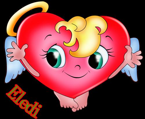 Imágenes Infantiles- Corazón Con Alas