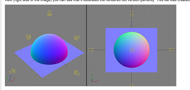 Normal map like geometry shader - Epic Games Forums