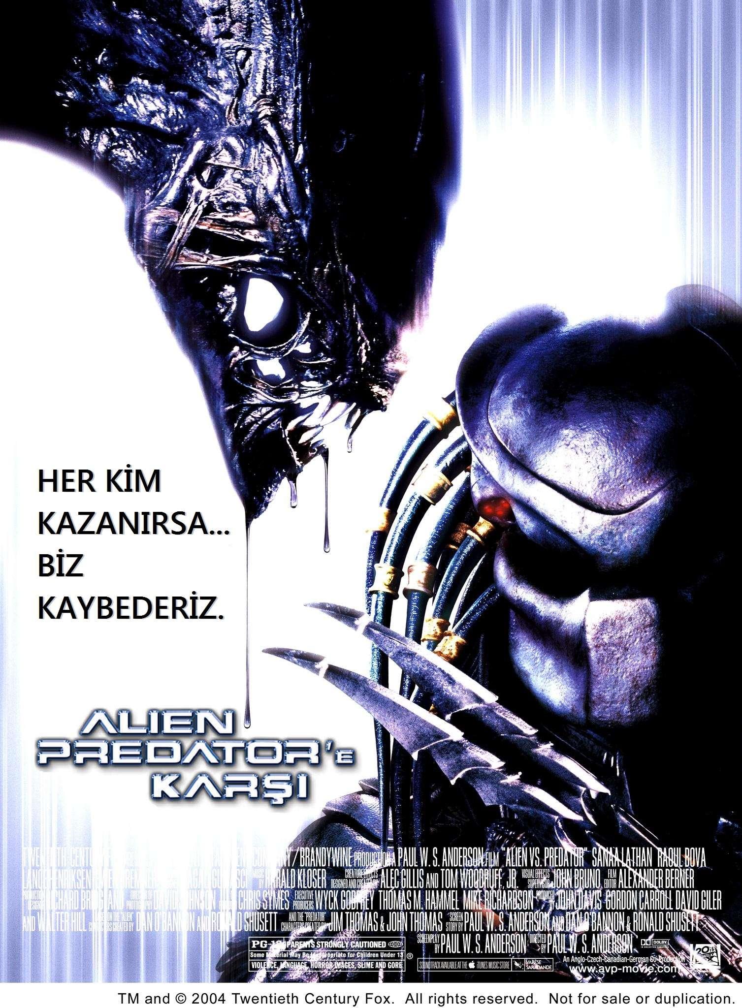 Alien Predator'e Karşı - 2004 Türkçe Dublaj 480p BRRip Tek Link indir