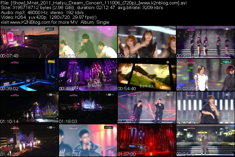 [Show] Mnet 2011 Hallyu Dream Concert 111006 (HD 720p) thumbnail